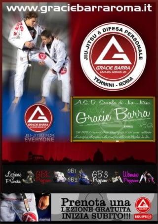 Corso di Brazilian Jiu Jitsu - Gracie Barra Roma
