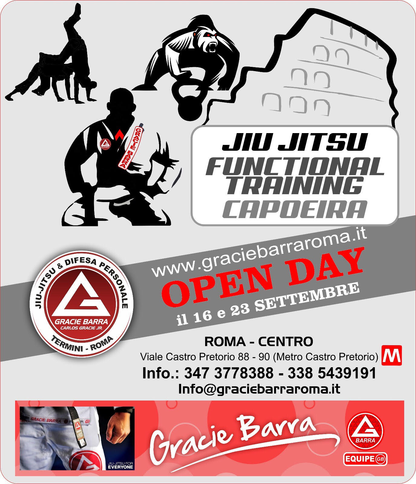 Open Day Gracie Barra