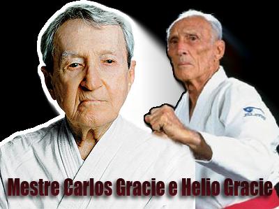 Carlos Gracie e Hélio Gracie