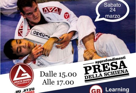 Gracie Barra Roma Stage